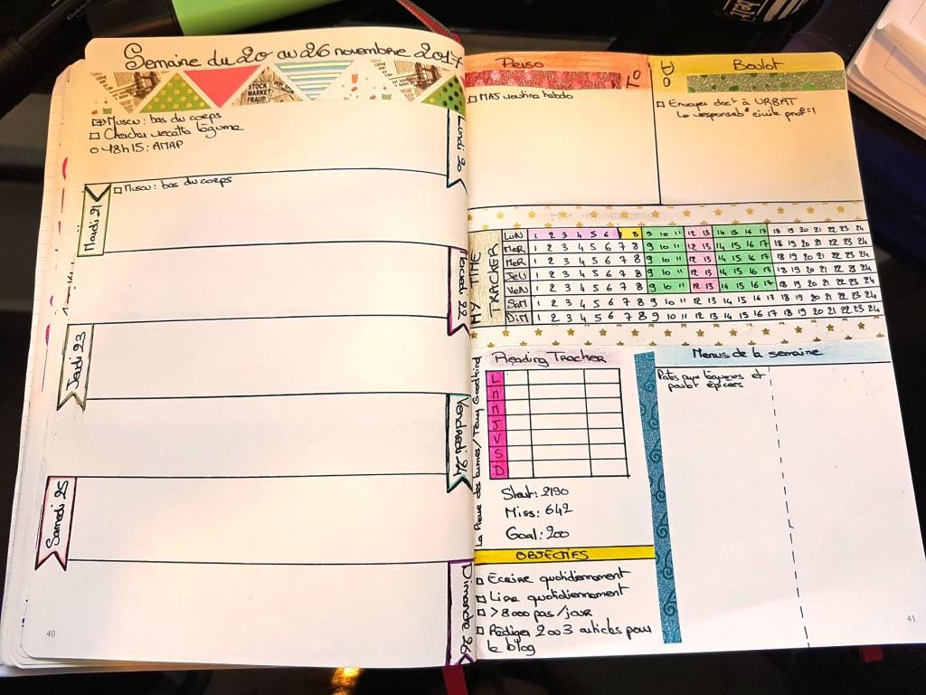 Créer son premier bullet journal